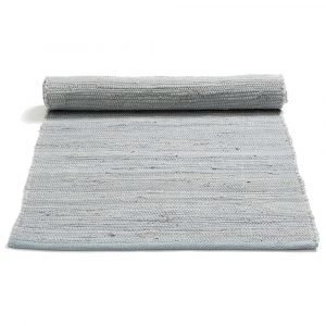 Rug Solid Cotton Matto Reuna Harmaa 170x240 Cm