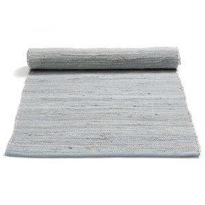 Rug Solid Cotton Matto Reuna Harmaa 75x300 Cm