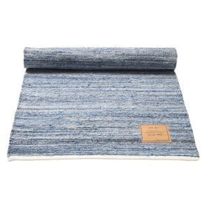 Rug Solid Jeans Matto Reuna 80x240 Cm