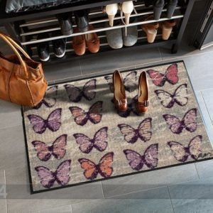 Salonloewe Matto Colorful Butterflies 50x75 Cm