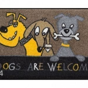 Salonloewe Matto Dogs Are Welcome 50x75 Cm