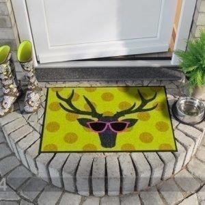 Salonloewe Matto Funky Deer 50x75 Cm