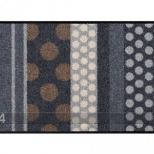 Salonloewe Matto Glamour Dots Grau 40x60 Cm