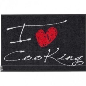 Salonloewe Matto I Love Cooking Heart 50x75 Cm