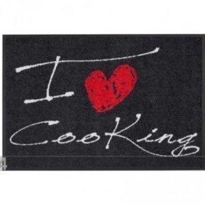 Salonloewe Matto I Love Cooking Heart 50x75 Cm