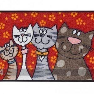Salonloewe Matto Katzenfamilie 50x75 Cm