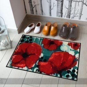 Salonloewe Matto Poppies By The Pool 50x75 Cm