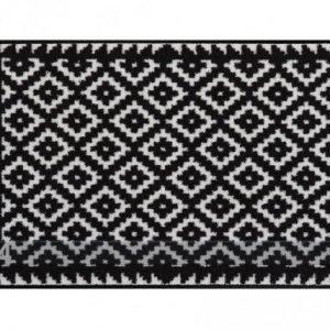 Salonloewe Matto Tabuk Black & White 50x75 Cm