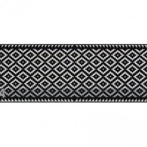 Salonloewe Matto Tabuk Black & White 60x180 Cm