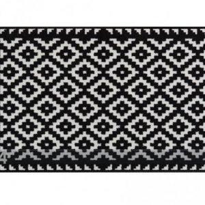 Salonloewe Matto Tabuk Black % White 75x120 Cm