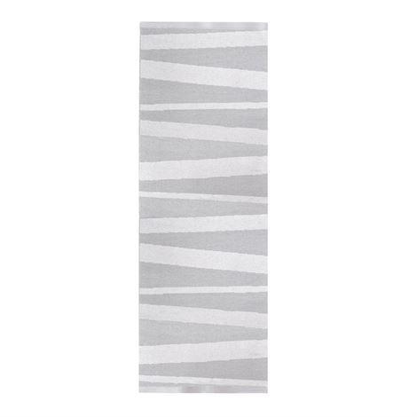 Sofie Sjöström Design Åre Matto Harmaa-Valkoinen 70x300 cm