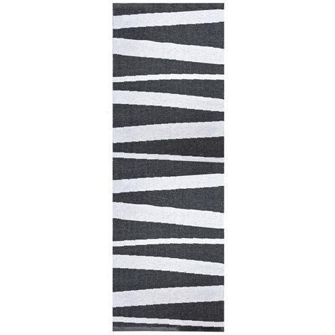 Sofie Sjöström Design Åre Matto Musta Valkoinen 70x200 cm