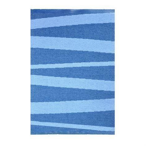 Sofie Sjöström Design Åre Matto Tummansininen-Sininen 70x100 cm