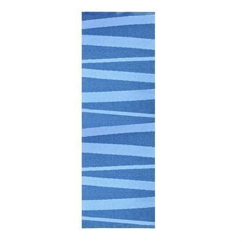 Sofie Sjöström Design Åre Matto Tummansininen-Sininen 70x200 cm