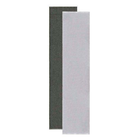 Sofie Sjöström Design Flip Matto Harmaa-Musta 70x300 cm