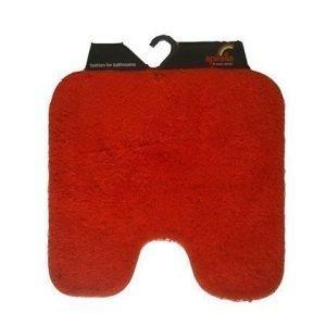 Spirella Wc-Matto California Punainen 55x55 Cm