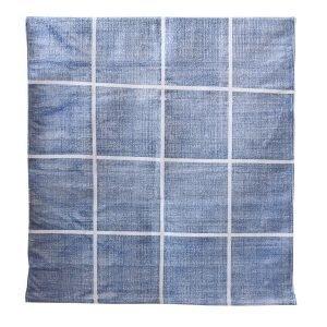 Tell Me More Square Matto Sininen 80x150 Cm