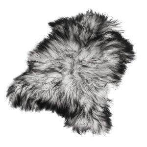The Organic Sheep Longhair Lampaantalja Luonnonharmaa 70x110 Cm