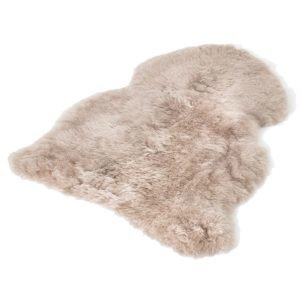 The Organic Sheep Shorthair Lampaantalja Taupe 50x100 Cm
