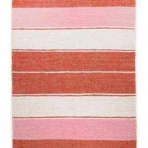 Theko Die Markenteppiche Matto Happy Stripes Punainen