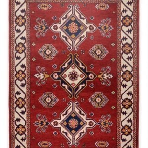 Theko Die Markenteppiche Matto Royal Kazak Punainen