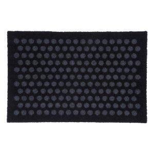 Tica Copenhagen Dot Ovimatto Musta / Harmaa 40x60 Cm