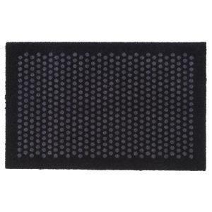 Tica Copenhagen Dot Ovimatto Musta / Harmaa 60x90 Cm