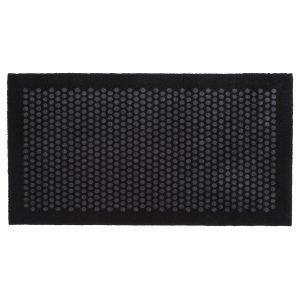 Tica Copenhagen Dot Ovimatto Musta / Harmaa 67x120 Cm