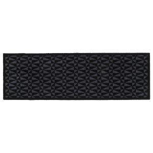 Tica Copenhagen Graphic Ovimatto Musta / Harmaa 67x200 Cm