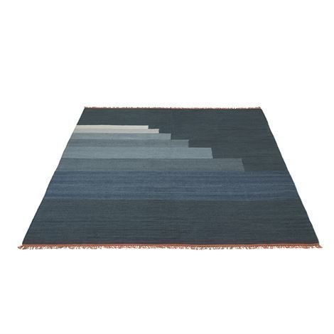 &Tradition Another Matto 170x240 cm Blue Thunder Sininen