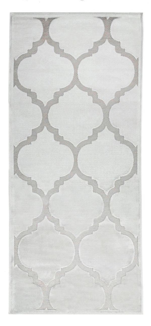 Vallila Feeniks Viskoosimatto Dark Grey 67x160 Cm