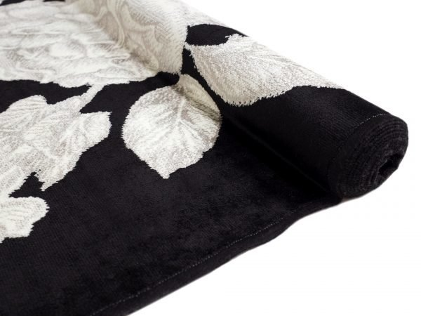 Vallila Heija Shiny Viskoosimatto Black 160x230 Cm