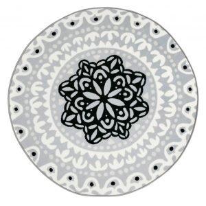 Vallila India Matto Whitegrey 160x230 Cm