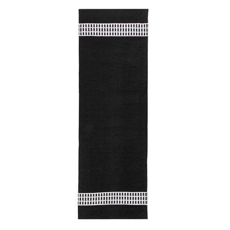 Vallila Kirstu Muovimatto Musta 60x120 cm