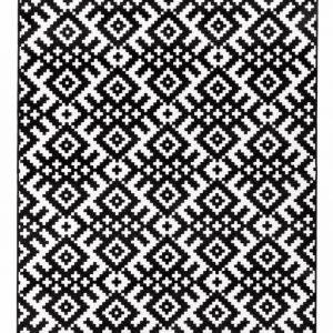 Vallila Masuuni Matto Musta Valkoinen 133x190 Cm