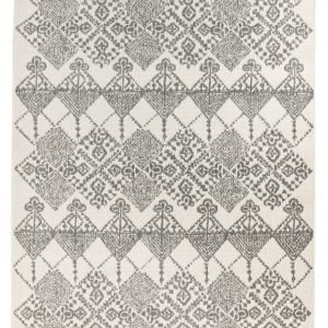 Vallila Serafina Matto White Grey 133x190 Cm