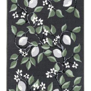 Vallila Sitruuna Matto Green 80x250 Cm