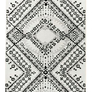 Vallila Traditio Shiny Matto White Black 68x220 Cm