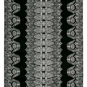 Vallila Tulum Shiny Matto Black 160x230 Cm