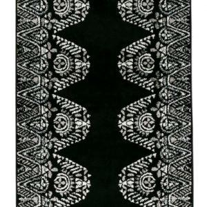 Vallila Tulum Shiny Matto Black 68x110 Cm