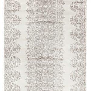 Vallila Tulum Shiny Matto White Grey 140x200 Cm