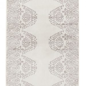 Vallila Tulum Shiny Matto White Grey 68x110 Cm
