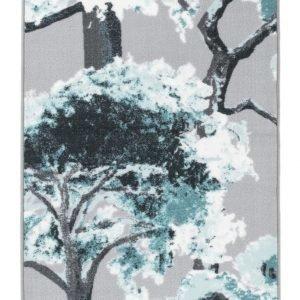 Vallila Unipuu Matto Grey Aqua 80x230 Cm