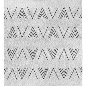 Vallila Valencia Nukkamatto Grey 160x230 Cm