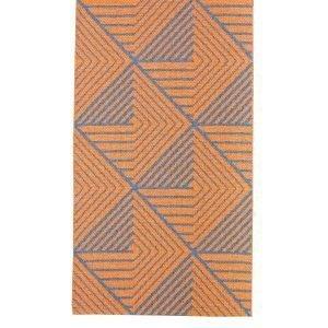Varg Designkollektiv Stubbe Matto Oranssi / Denim 70x350 Cm