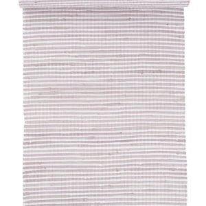 Viola Räsymatto 70x150 Cm Kanervanroosa / Valkoinen