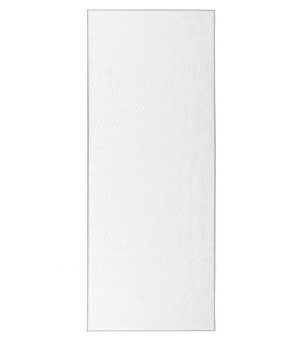 Vm-Carpet Solina Polypropeenimatto Valkoinen 80x200 Cm