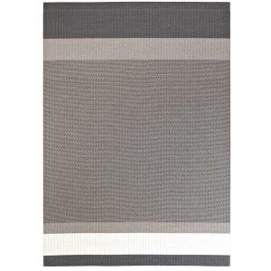Woodnotes Panorama Paperinarumatto Grafiitti / Vaaleanharmaa 140x200 Cm