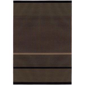 Woodnotes San Francisco Paperinarumatto Musta Natural 110x200 Cm