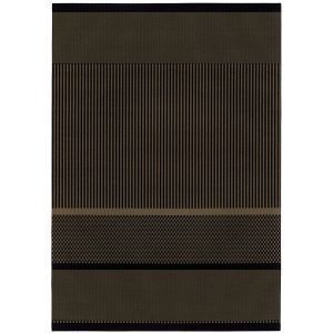 Woodnotes San Francisco Paperinarumatto Musta Nutria 140x200 Cm